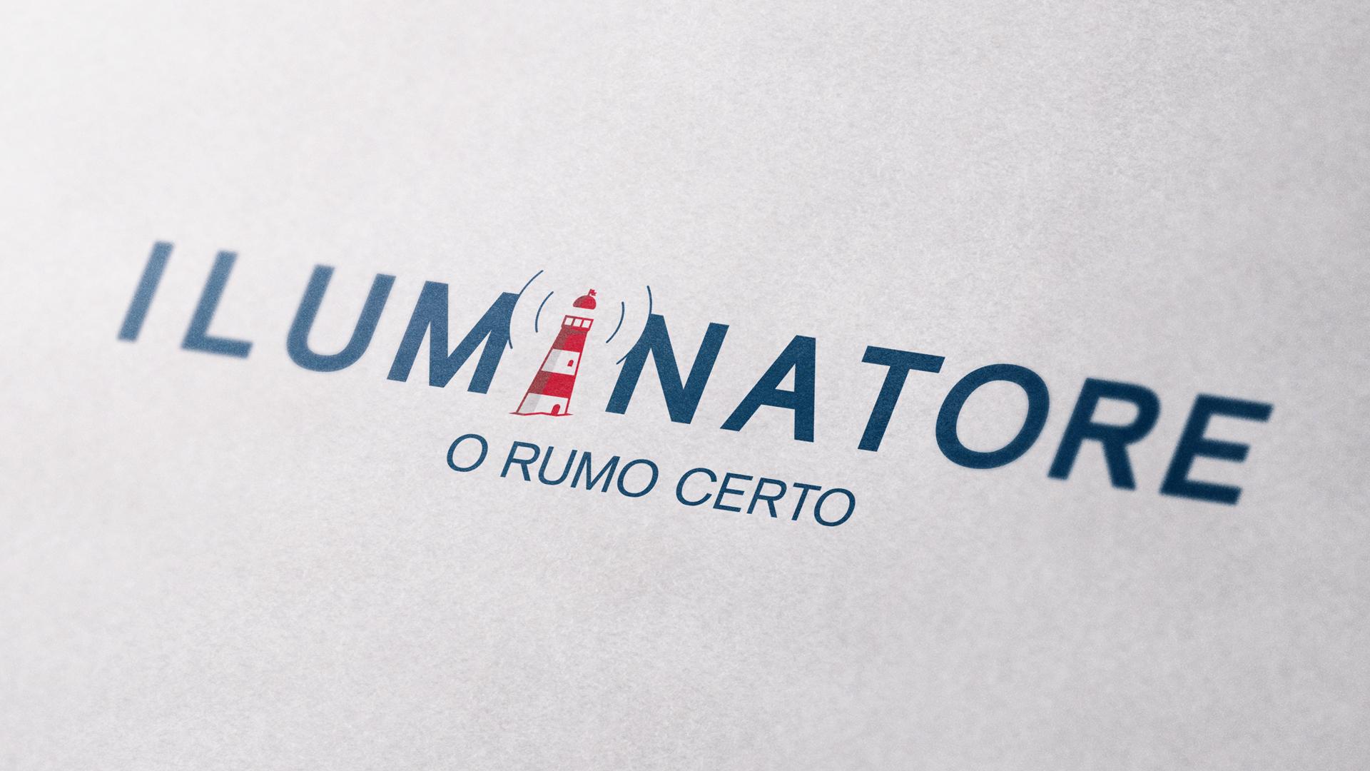Wellness Brand Design ILUMINATORE Rebrand with lighthouse mark