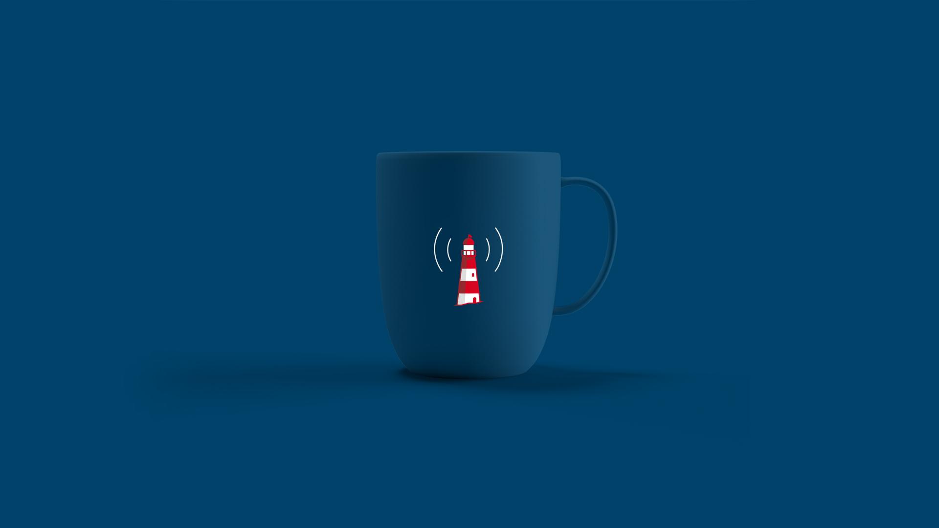 Wellness Brand Design responsive design with lighthouse mark