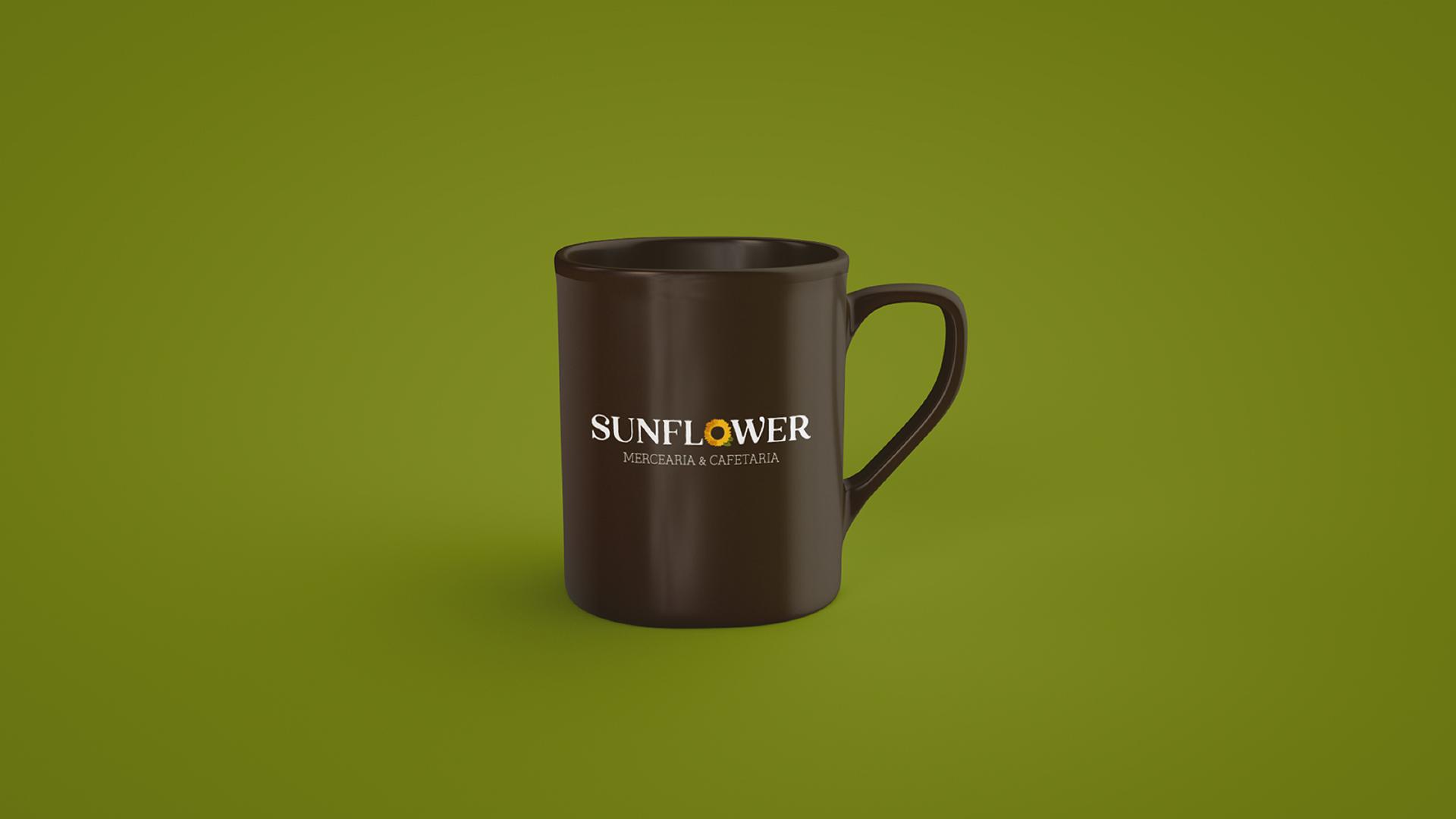 Wellness Brand Design logo on mug