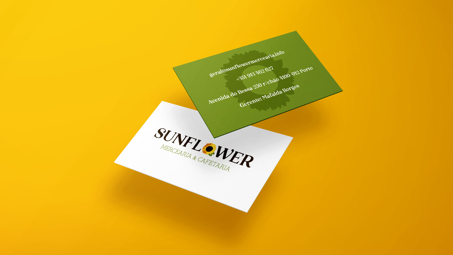 Grocery Store and Cafeteria business cards