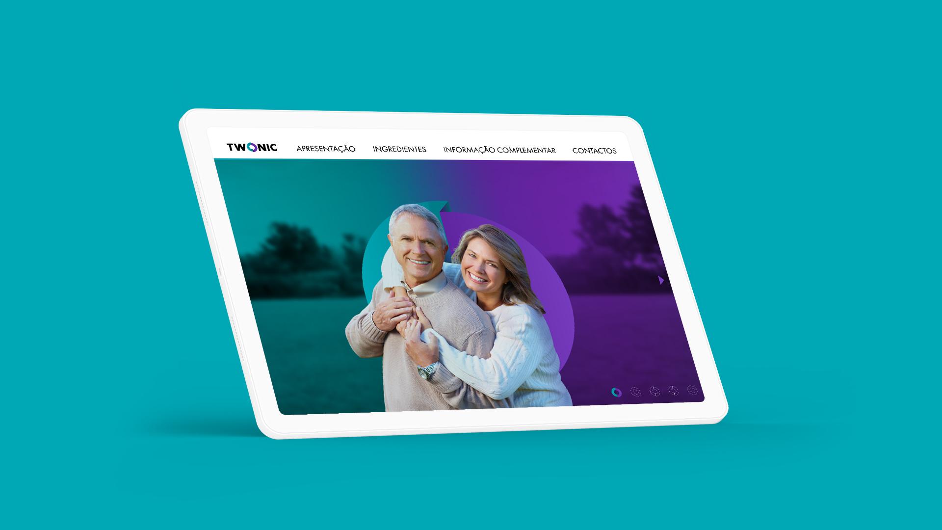 Wellness Brand Design interactive presentation with active links