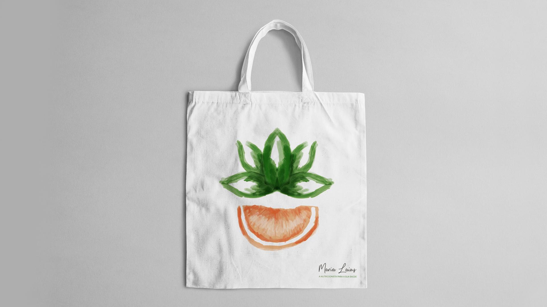 Wellness Brand Design - Nutriotionist Logo with original illustrations